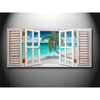 Quality Art Decorative Window Scenery Handmade Oil Painting On Linen, Canvas, Paper mcfj1011 wholesale