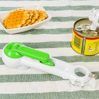Quality Picnic Gift Household 7 In 1 Can Opener , Multi Function Plastic Kitchen Tools wholesale