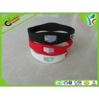 Quality Eco-friendly Silicone Energy Bracelet Power Warriors With Glittering Holograms wholesale