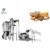 China Stainless Stell Grain Powder Milling Machine , Chickpea Besan Flour Pulverizer on sale