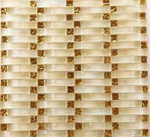 Quality Crystal Glass Mosaic Bathroom Backsplash Tile For Washroom Arches Type wholesale