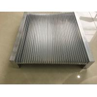 Quality 6061 Alloy CNC Milling Large Aluminium Heat Sink Profiles 300MM Width wholesale