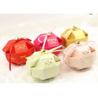 Quality Cute small assemble paper box for candy and snacks of wedding gift wholesale