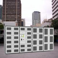 Quality Remote Control Combo Vending Machines Outdoor Locker Systems With LED Lights wholesale