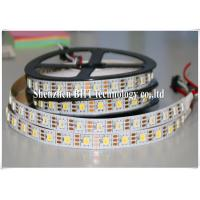 Quality Decoration Dimmable Digital RGBW LED Strip , Controllable Led Strip Lights Outdoor Use Self Adhesive wholesale