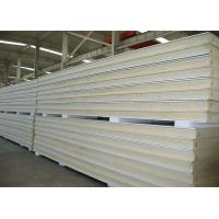Quality Heat Insulation Pu Polyurethane Sandwich Panels Anti Noise For Prefab Building wholesale