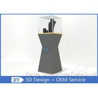 Quality Free 3D Design Ship With Pre Assembly Jewelry Window Showcase wholesale
