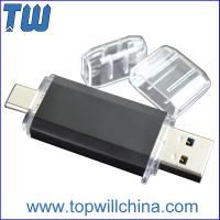 Buy cheap Fast Delivery Usb 3.1 Type-C Pen Drive Flashdrive with Usb 3.0 for Phone and Laptop product