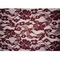 Quality Beauty Chemical Lace Fabric / Cupion Lace Fabric With Polyester / Cotton Material wholesale