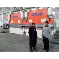 Buy cheap CNC Tandem Press Brake Machine 320 Ton 6 M Two Press Cnc Bending Machine product