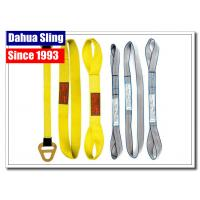 Customized Logo Harga Webbing Sling , Hoist Lifting Straps Acid Resistance