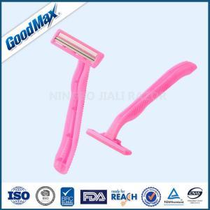Quality Goodmax Ladies Disposable Razors , Non - Slip Rubbers Ladies Razors For Sensitive Skin wholesale