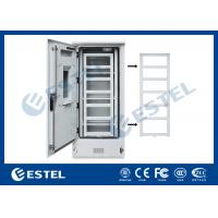 Quality Double Wall Three Shelves Telecom Outdoor Cabinet Sunproof ISO9001 CE Certification wholesale