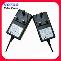 Quality EU Plug AC 100V - 240V To DC 9V 2A Power Adapter , Wall Mount Power Adaptor wholesale