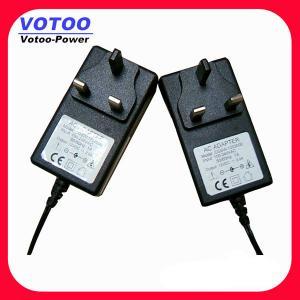 Quality EU Plug AC 100V - 240V To DC 9V 2A Power Adapter , Wall Mount Power Adaptor wholesale