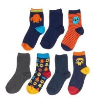 Quality Boys 7-Pack Monster Socks wholesale