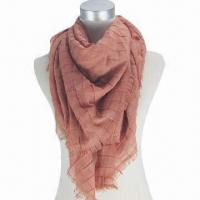 Quality Square cashmere-like scarf with fashionable colors wholesale