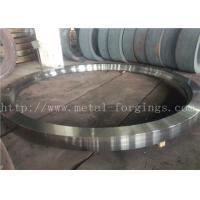 Quality Max OD 5000mm A350 LF3 LF6 Carbon Steel Forged Rings  Rough Machined Q+T Heat Treatment wholesale
