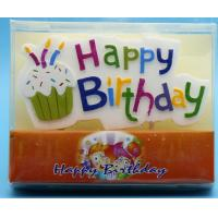 Quality Colorful Hand Painted Cool Candles For Birthday Cakes No Drip Disposable wholesale