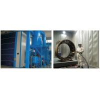 Quality High Efficiency Grit Blasting Room , Industrial Sandblast Cabinet Electric Control wholesale