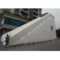 China Commercial PVC Vinyl Double Lane Kids Big Inflatable Slide For Kids And Adults on sale