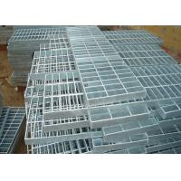 Cheap Custom Industrial Grate Flooring , ISO 9001 Stainless Steel Open Grid Flooring for sale