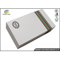 Quality Customized Paper White Cardboard Gift Boxes For Apparel Packaging Manufacture wholesale