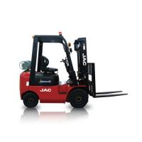 Quality JAC Gasoline Forklift Truck 1.5 Ton Lifting Capacity 3m - 6m Lift Height wholesale