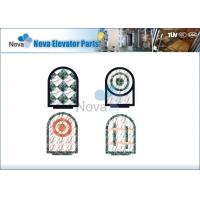 China Commercial Elevator Cabins Components , Panoramic Marble Passenger Elevator Floor on sale