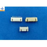 Quality 2.50mm pitch shrouded header wire to board connector single row vertical type wafer connector wholesale