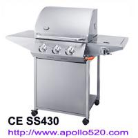 Quality LPG Gas Barbecue Grill 3 burner wholesale