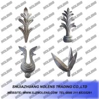 China Casting Steel Gate's Ornamental Leaves,Balusters's Ornaments Leaves,Wrought Iron Leaves,Decorating with Railings on sale