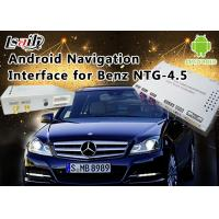 China Mercedes-Benz E Class NTG 4.5 GPS Navigation Android Auto Interface Box Support WiFi Bt Mirrorlink on sale