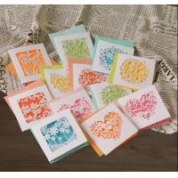 China Artificial Paper Greeting Cards , Holiday Party Invitation Cards on sale