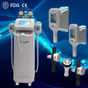 China Latest fat removal cryo+cavi+RF whole body skin tightening machine on sale