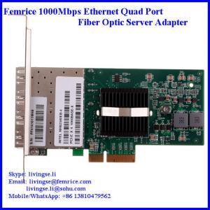 Quality 1.25G/10km Network Standard 1000Mbps Ethernet fiber optical network adapter wholesale