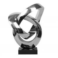 Quality Custom Outdoor Abstract Stainless Steel Sculpture And Metal Garden Sculpture wholesale
