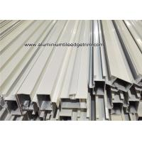 Powder Coating White Aluminum Door Frame Extrusions / Sections / Profiles /