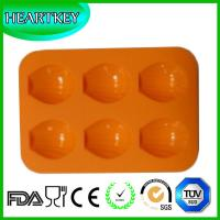Quality Shell Shape 6 Holes Silicone Cake Baking Mold Cake Pan Muffin Cups Handmade Soap Mould wholesale