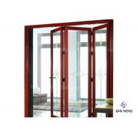 Quality Aluminum Folding Doors Bi Folding Door Folding Patio Doors For Villa Use wholesale