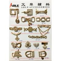 Quality Durable Metal Men And Women Shoe Buckle Replacement Custom Ornaments wholesale