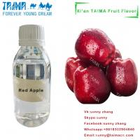 Quality Usp grade best price high concentrated fruit flavours liquid concentrate Red Apple flavor for vape juice wholesale