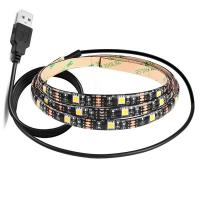 Quality TV Backlight LED RGB Strip Lights Colour Changeable HDTV USB DC 5V 30LEDs wholesale