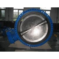China High Performance Stainless Steel Butterfly Valve , Electric Automated Butterfly Valve on sale