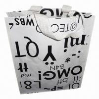 Quality PP Woven Shopping Bag, for Packaging Wine Bottles, OEM Orders are Accepted wholesale