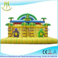 China Hansel Hot Commercial Inflatable Slide with customized bouncy slide on sale