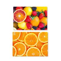 Waterproof Plastic 3D Lenticular Placemats For Gift / Lenticular Image Printing