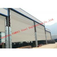 Quality Frequency Controlled Vertical Lifting Fabric Industrial Doors For Large Openings wholesale