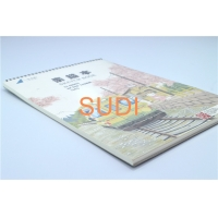 China Custom Printing Design Doube Coil 70gram Spiral Binding Books on sale