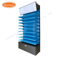 China Retail Store Makeup Product Exhibition Floor Display Stand on sale